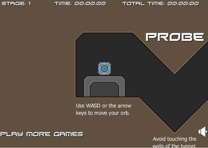 Probe Maze Game