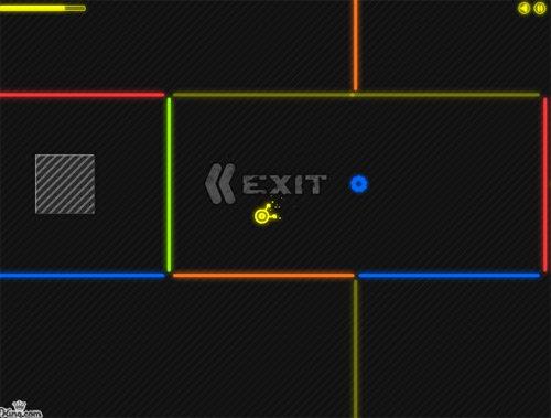 Neon Maze Online Game