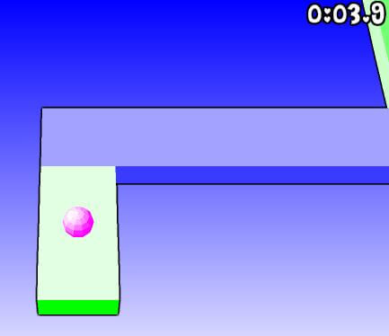 Pink Ball Maze Game Online